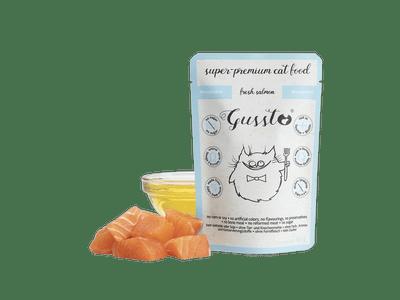 GUSSTO super premium salmon saszetka Łosoś 85g