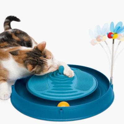 Tor Catit Play'n Scratch z masażerem dla kota 3w1