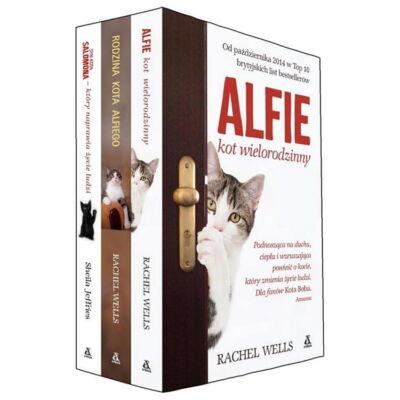 Zestaw książek: Alfie, kot wielorodzinny, Rodzina kota Alfiego, Syn kota Salomona