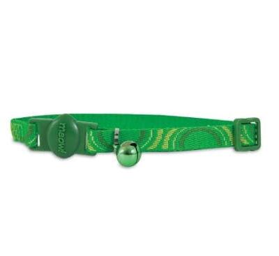 Bezpieczna obroża Eco Green, zielona
