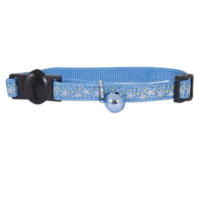 Bezpieczna obroża Stars Blue, niebieska