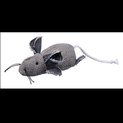 Myszka z kocimiętką, grafitowa