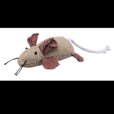 Myszka z kocimiętką, beżowa