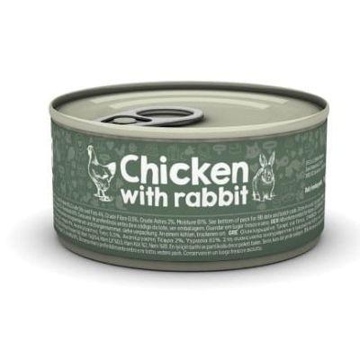Naturea bezzbożowa karma filetowa - Kurczak i królik 85g
