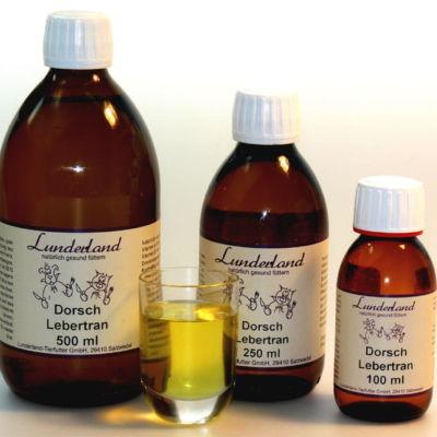 Olej z wątroby dorsza - tran dla kotów i psów, 90ml