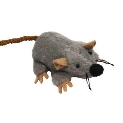 Pluszowa myszka z ogonkiem, szara