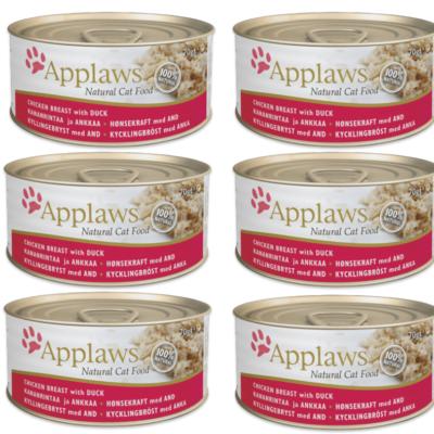 applaws kurczak kaczka pakiet 6