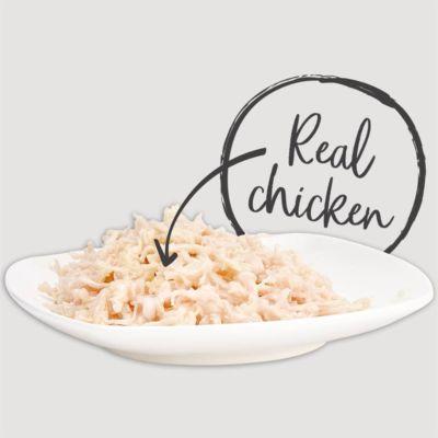 Applaws Natural - Pierś kurczaka w wywarze 6x70g pakiet