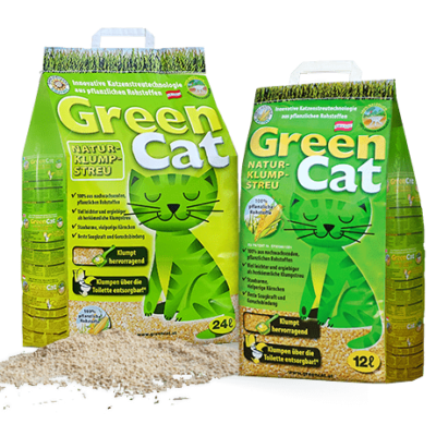 Żwirek eko Green Cat 24l
