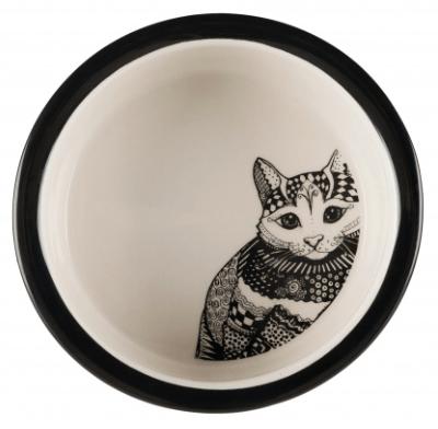 Miseczka ceramiczna w kropki, 300ml
