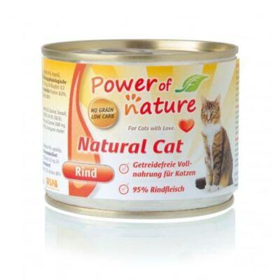 karma Power of Nature Natural Cat wołowina 200g Premium