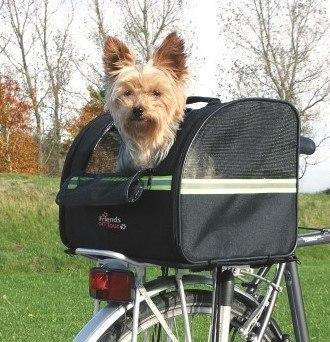 Bezpieczny transporter na rower