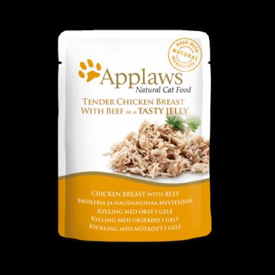 applaws kurczak wołowina saszetka