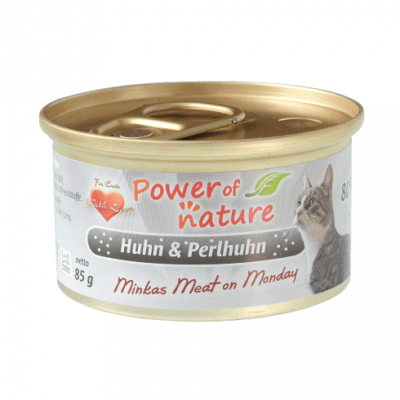 kurczak i perliczka power of nature 85g