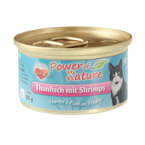 tunczyk i krewetki power of nature 85g
