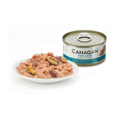 canagan tuńczyk z małżami środek